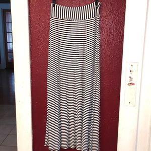 2 for $20 GAP Blue and White Full Maxi Skirt